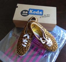 Keds leopard shoe