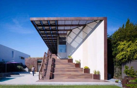 The Brooks + Scarpa designed home.